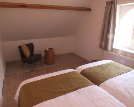 vakantiewoning La Compagnie des Moëres Moerhuisje - slaapkamer 2 achterkant