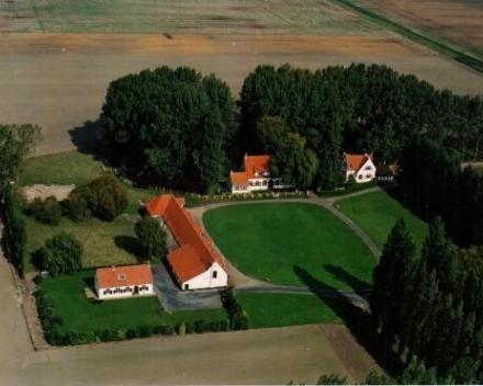 Vakantiewoning 't Moerland - bovenaanzicht site